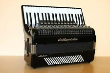Weltmeister Meteor 120 Bass LMMH Accordion Fisarmonica Black + Case