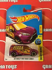 Hot Wheels Ford Transit Connect #143 2017 Hot Wheels Case F