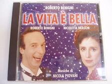 ROBERTO BENIGNI / PIOVANI - LA VITA E BELLA - RARE CD