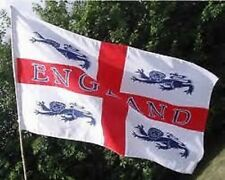 England 4 Lions flag. Flags. 5 x 3. St George. Euro Championships 2016.World Cup