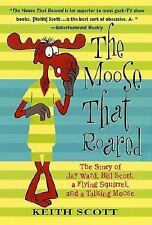 2001 The Moose That Roared: Story of Rocky & Bullwinkle Softcover Book- UNREAD
