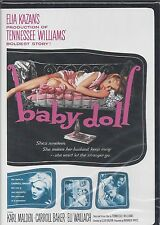BABY DOLL Karl Malden Carroll Baker Eli Wallach Tennessee Williams Play NEW DVD