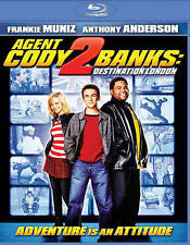 Agent Cody Banks: Destination London Blu-ray Disc, 2016