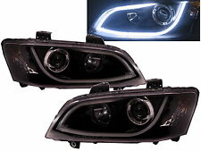 Commodore VE 2006-2013 HSV Projector Headlight LED DRL R8 BK Holden SS SV6 SV8