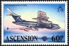 Handley Page VICTOR K2 / RAF 55 SQUADRON Aircraft Stamp (1983 Ascension Island)
