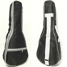 "NAOMI UKULELE 26"" Ukulele Bag Case Backpack Tenor Ukelele Black White Gig Bag"