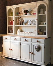 Large Ducal Pine Dresser - Sideboard - Kitchen Unit - Hand Painted Shabby Chic