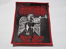 BLASPHEMY BLOOD UPON THE ALTAR EMBROIDERED PATCH