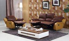 Microfaser Relax Schlafsofas Polstermöbel Fernsehsessel 5129-3+1-PU-04