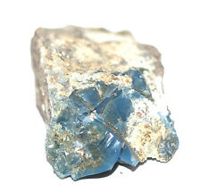 Blue Owyhee Opal Mineral crystal 68gms60mm- Pure Blue Ray, Angels #8771