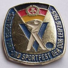 Abzeichen V. Deutsches Turn und Sportfest der DDR - Leipzig 1969