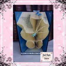Pram Folded Book Art Folding PATTERN ONLY #1040