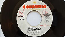 JOHNNY CASH & TENNESSEE THREE - Sold Out of Flagpoles MONO/STEREO PROMO 7""