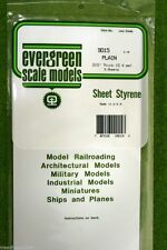 "EVERGREEN SHEET STYRENE White Plasticard .015""  #9015"