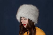 Fashion Women Lady Faux Fox Fur Cossack Style Russian Winter Hats Warm Cap NEW