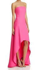 Laundry by Shelli Segal New Strapless High Low Gown Size 8 #2A 12
