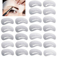24 Styles Eyebrow Grooming Stencil Shaping Shaper Templates DIY Makeup Tools
