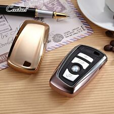 BMW key chain shell cover case 1 2 3 4 5 7 Series M3 M4 M5 GT X1 X3 X4 TPU GOLD