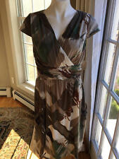 NEW Women's Coldwater Creek ruched dress size 10