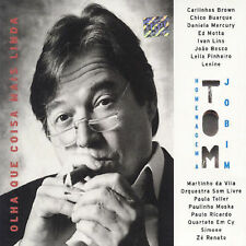 Uma Homenage  a TOM JOBIM by Various Artists Coisa mas linda(CD,Mar-2001, Som...