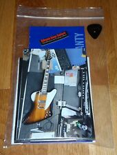 Gibson Firebird Case Candy Manual Warranty Wrench Polishing Cloth Guitar Parts