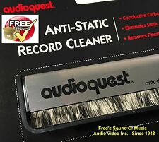 Factory Fresh Audioquest Record Cleaner LP Vinyl Cleaning Brush Anti Static