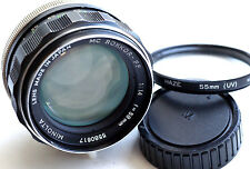 Minolta MC ROKKOR-PF 58mm f1.4 Lens World Ship  JAPAN  GREAT