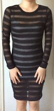 H&M Black Mesh Dress - Brand New Authentic EUR XS