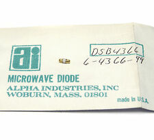 Alpha Industries HF Diode DSB 4366 / 6-4366-99, Mikrowellen-Diode, NOS