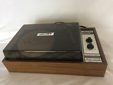 Vtg deJay SP476 Stereophonic Portable Record Player 45/33 TurnTable Solid State