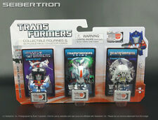 STARSCREAM Transformers 3-Pack Mini Figurine + 3D Puzzle Piece 30th Anniv Goldie