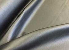 Black Perforated Type Upholstery Vinyl - Faux Leather Fabric - Automotive, Home