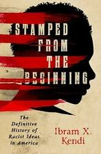 STAMPED FROM THE BEGINNING (9781568584638) - IBRAM X. KENDI (HARDCOVER) NEW