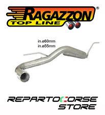 RAGAZZON SCARICO TERMINALE TONDO 90MM BMW SERIE 1 F20 F21 116d ed 85kW 116CV
