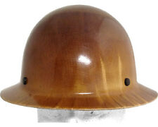 MSA Skullgard FULL BRIM Hard Hat with Staz-On Suspension - Natural Tan Color