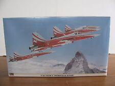 "Hasegawa 1/32 Scale Northrop F-5E Tiger II ""Patrouille Suisse"" #08117 NIB"
