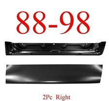 88 98 2Pc Right Front Door Bottom & Inner, Outer, Chevy, GMC, Suburban, Crew Cab