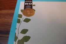GARTNER 50ct (Fifty) Wedding Invitation Kit Botanical Green with Gold Seals *NEW