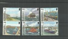 ALDERNEY 2012 THE HISTORY OF ALDERNEY HARBOUR SET MNH