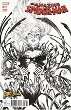AMAZING SPIDERMAN 16 COMICXPOSURE GUILLEM MARCH SKETCH VARIANT BLACK CAT SOLD OU