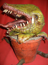 LIFESIZE LITTLE SHOP of HORRORS MAN EATING PLANT HALLOWEEN PROP AUDREY FIGURE
