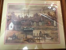 NEW ENGLAND PRINT BY ROBERT LEBRON--------------------------------------jb