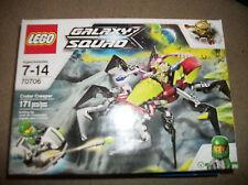 Lego Galaxy Squad 70706 pcs  Crater Creaper 2 mini figures New