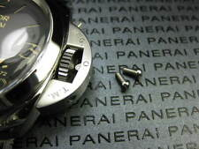 New 2pc 1950 & Luminor Daylight 316L Stainless Crown Guard Screw PANERAI XV