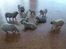 Vtg Collection Britains Hollow Cast & Solid Farm animals Sheep Rare Lambs & Ram