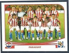 PANINI-SOUTH AFRICA 2010 WORLD CUP- #429-PARAGUAY TEAM PHOTO