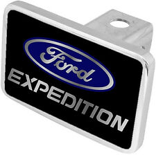New Ford Expedition Blue/Word Logo Tow Hitch Cover Plug