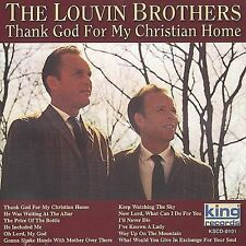 Louvin Brothers- Thank God for My Christian Home (King 101 NEW CD)