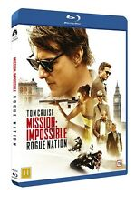 Mission: Impossible - Rogue Nation (Nordic release)Region Free Blu Ray