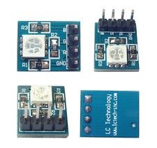 1Stk Neu 3 Farbe RGB SMD LED Modul 5050 Full Color LED 3.3-5V für Arduino
